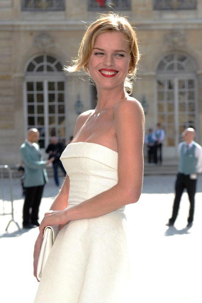 Eva Herzigova prides herself on being a self-made model