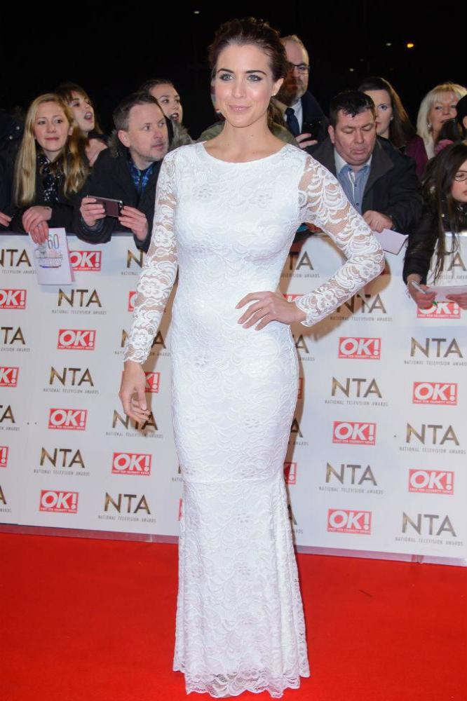 Gemma Atkinson at the National Television Awards