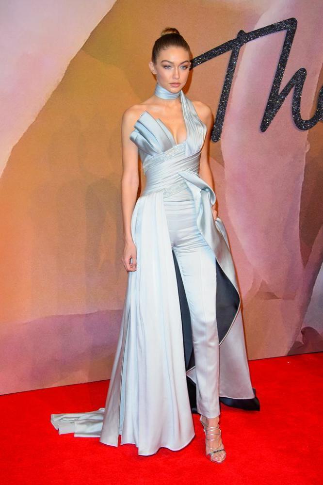 fe4e633c36 Gigi Hadid is  Donatella s Ice Princess