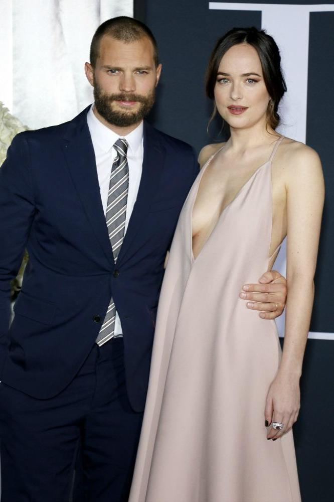 50 shades of grey movie jamie dornan and dakota johnson