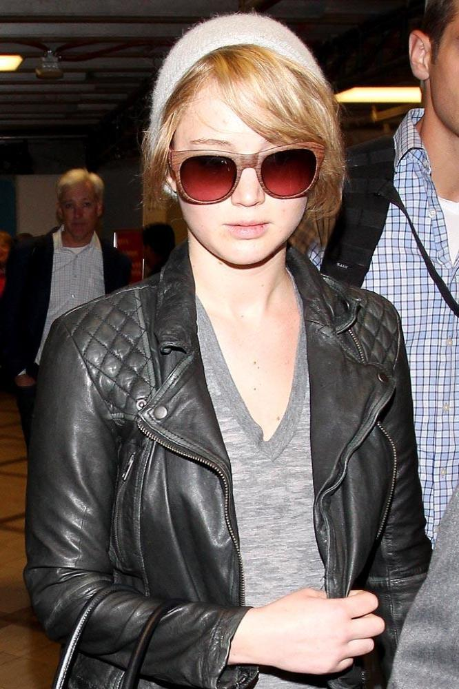 Jennifer Lawrence's AllSaints Leather Jacket - Buy Now