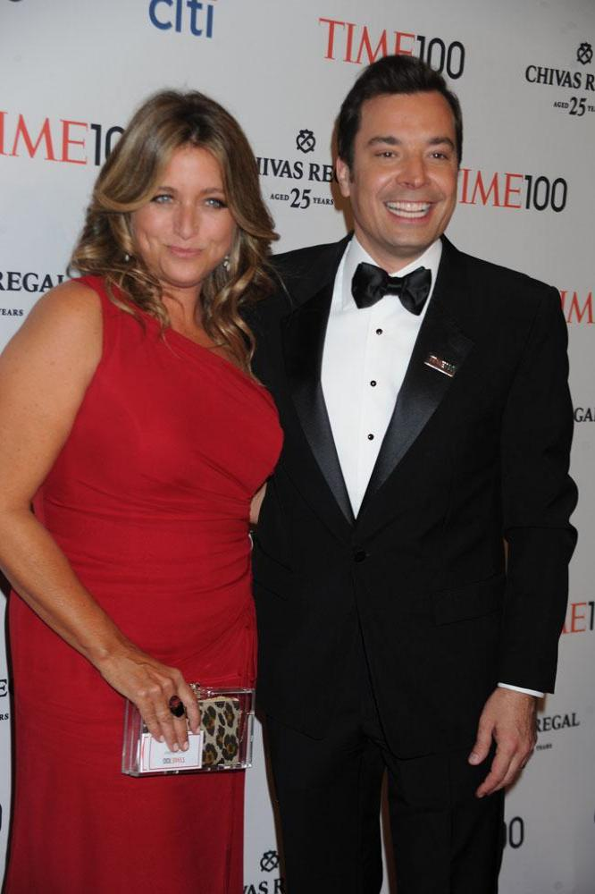 Jimmy and Nancy Fallon