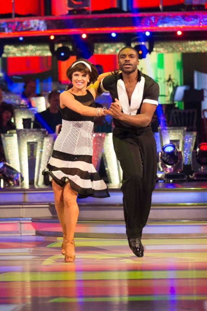 Joanne Clifton and Ore Oduba