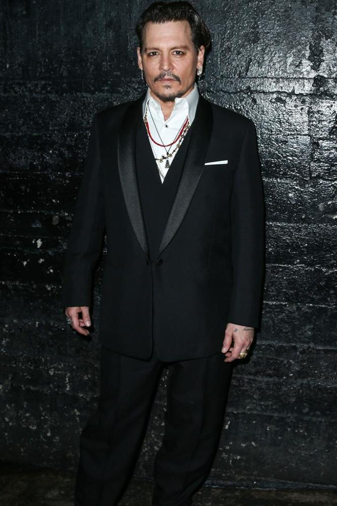 Johnny Depp at the Hollywood Beauty Awards