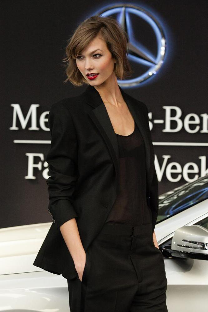 Karlie Kloss Says Short Hair Can Be Sexy