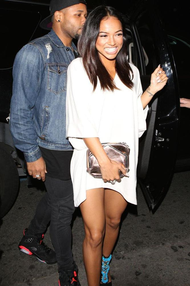karrueche tran and chris brown relationship advice