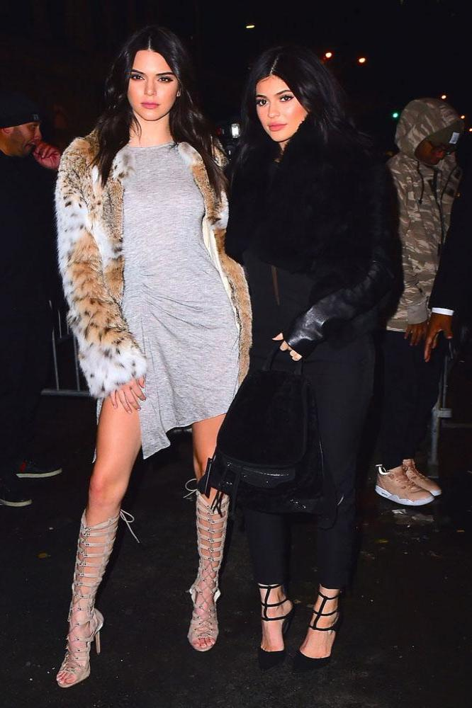 753df2651fb7f Kendall Jenner and Kylie Jenner launch their collection in New York