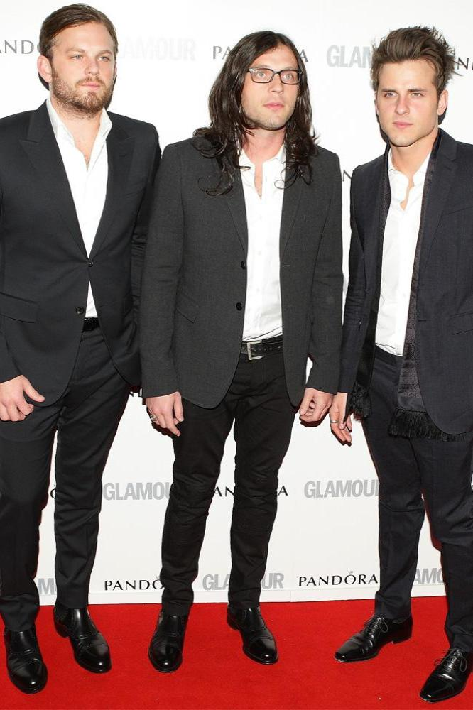 Kings of Leon (L-R Caleb, Nathan and Jared Followill)