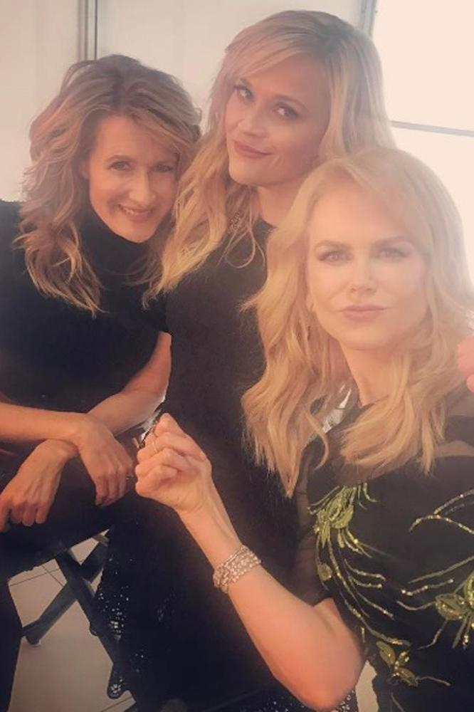 Reese Witherspoon, Nicole Kidman, Laura Den