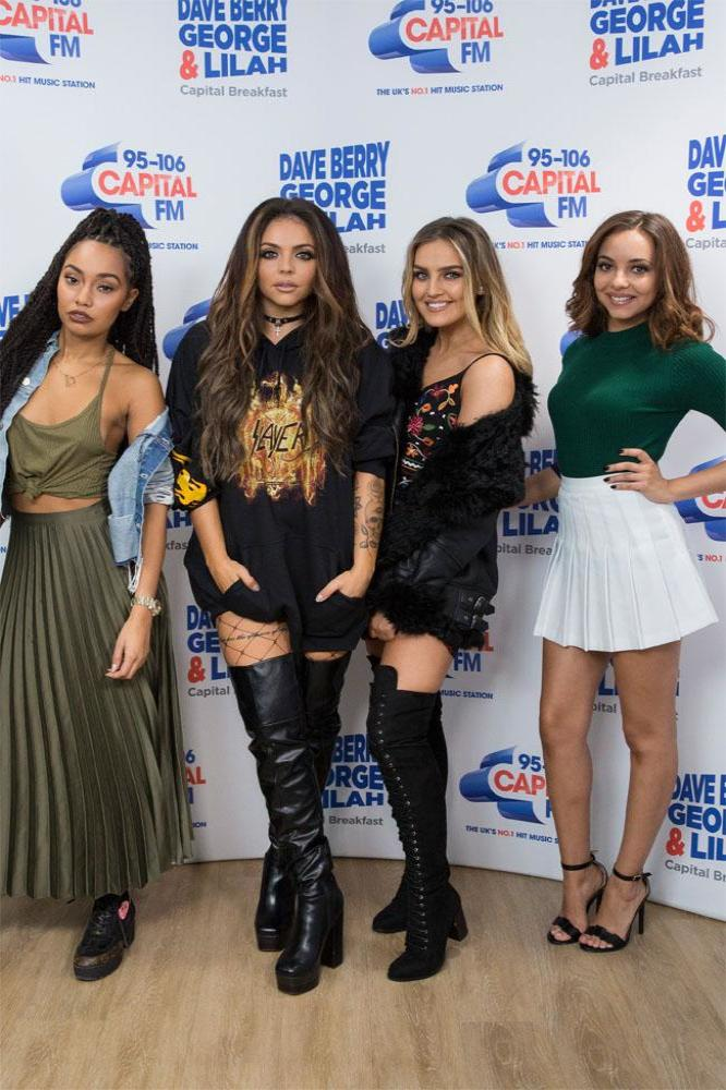 Little Mix at Capital FM studios