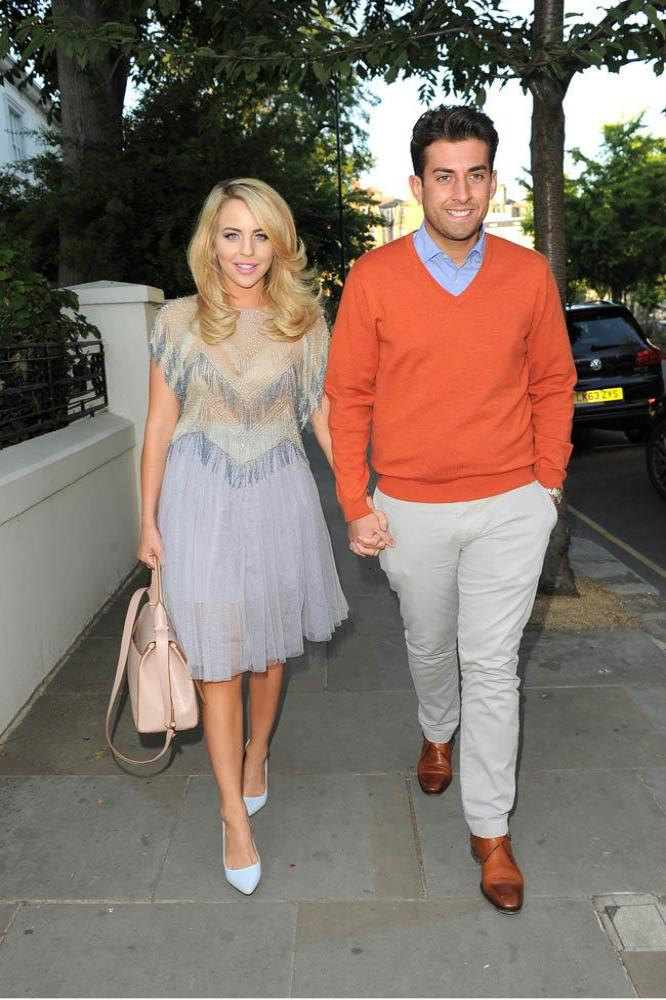 Lydia Bright and James 'Arg' Argent in 2015