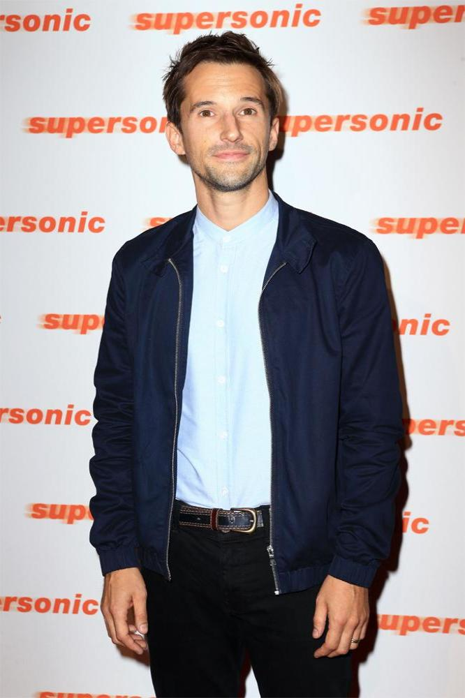 Mat Whitecross at Supersonic screening in London