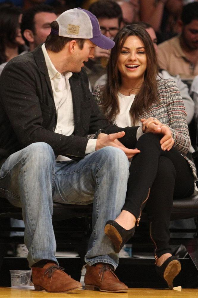 Ashton Kutcher And Mila Kunis Wedding.Mila Kunis Baby Will Be A Guest At Her Wedding
