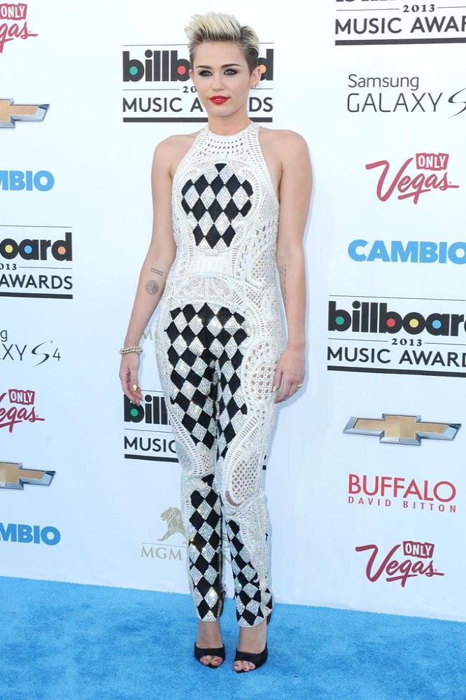 Miley Cyrus at the Billboard Awards