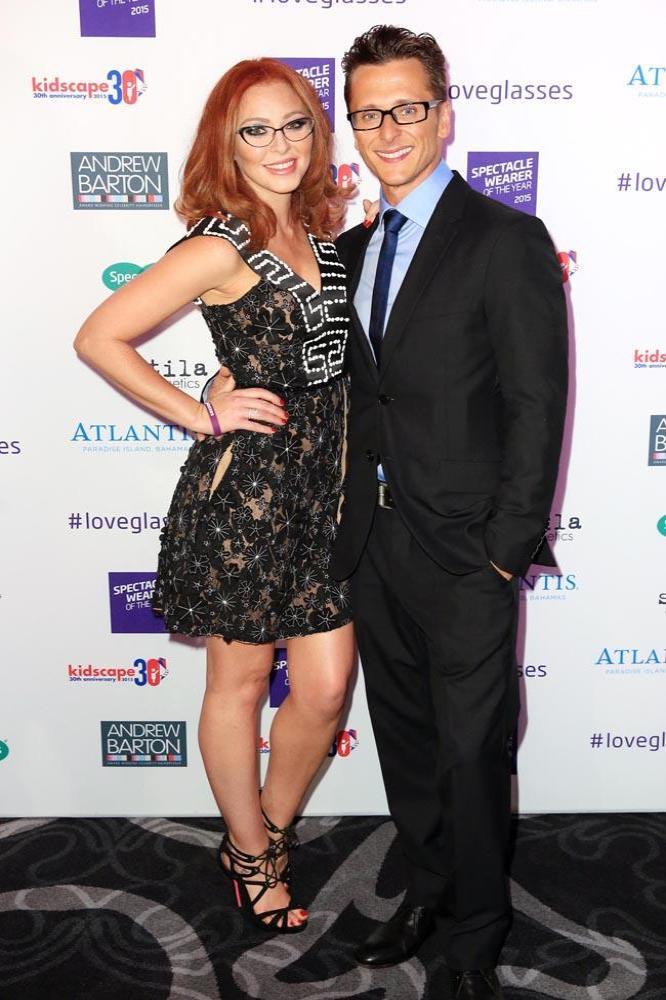 Natasha Hamilton & Ritchie Neville together during