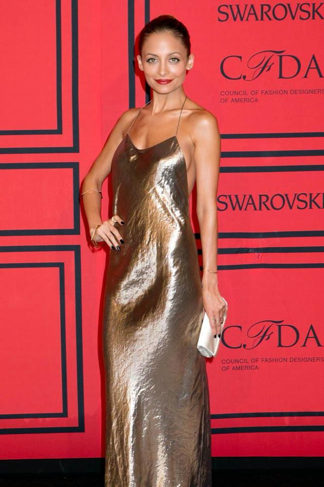 Nicole Richie works her Marc Jacobs slip dress