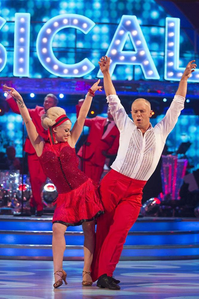 Oksana Platero and Judge Rinder