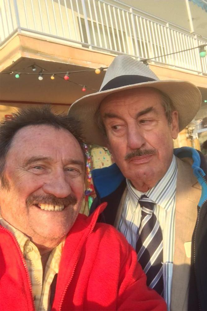 Paul Chuckle and John Challis (c) Twitter