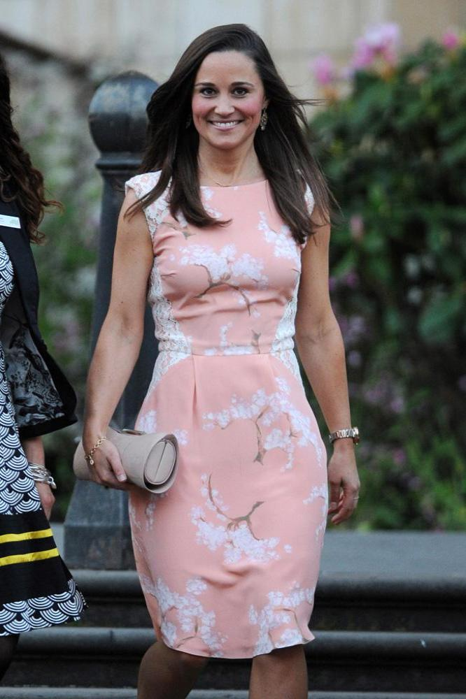 Pippa Middleton shows off her svelte figure