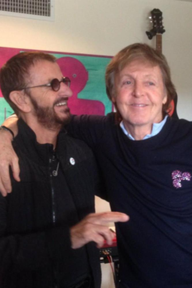 Ringo Starr And Paul McCartney Twitter C