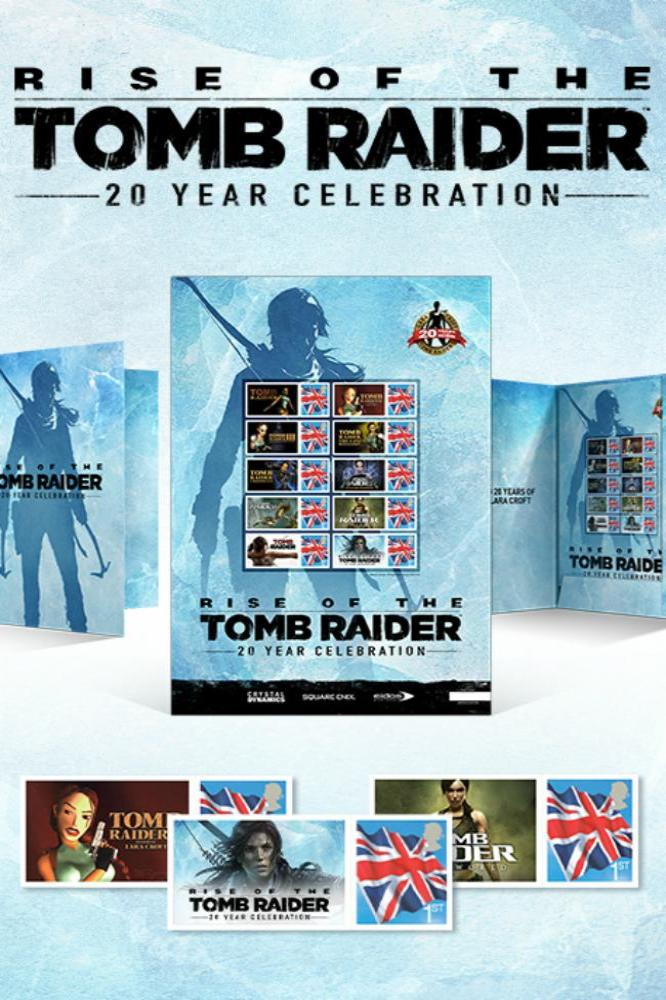 Rise of the Tomb Raider stamp sheets