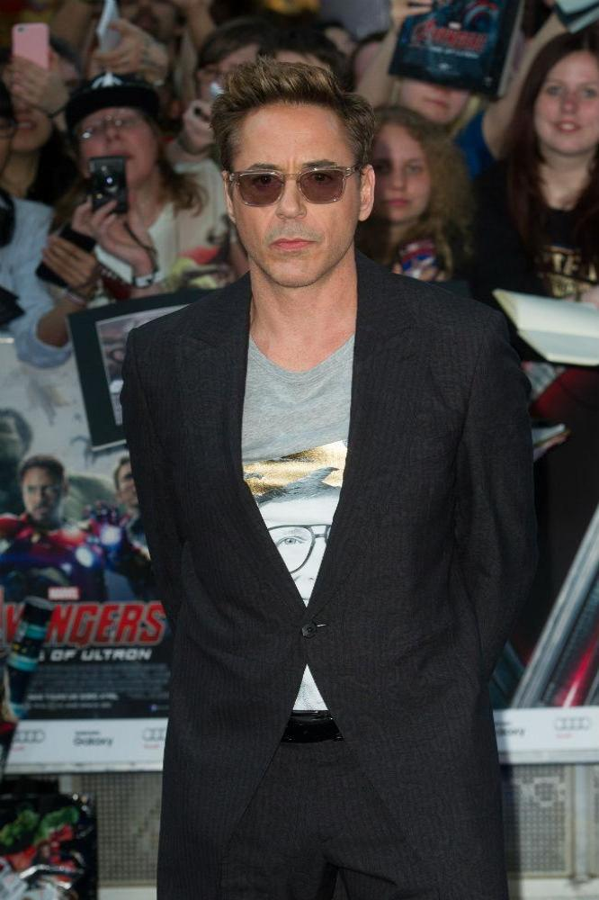 Robert Downey Jr. at European premiere of 'Avengers: Age of Ultron'