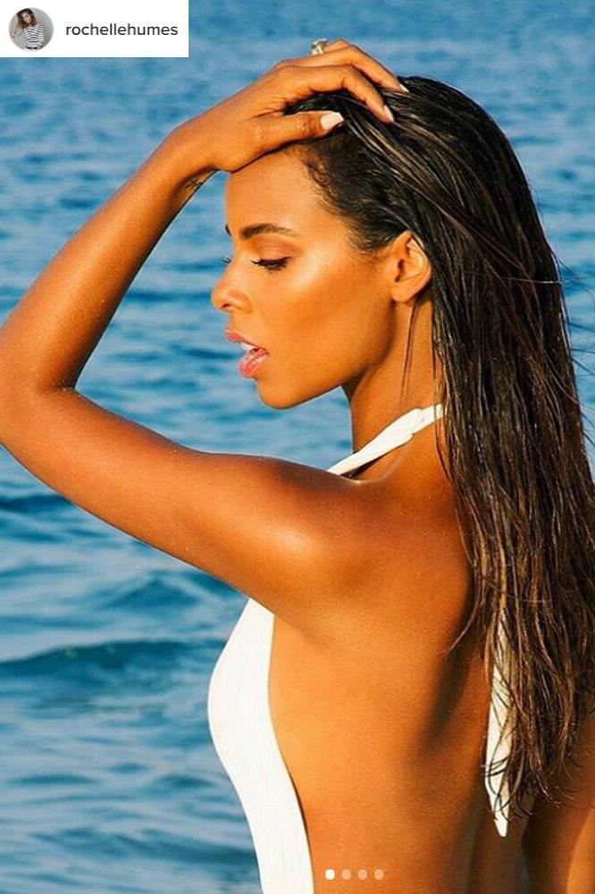 rochelle humes is 39 so excited 39 to launch beauty brand higlow. Black Bedroom Furniture Sets. Home Design Ideas