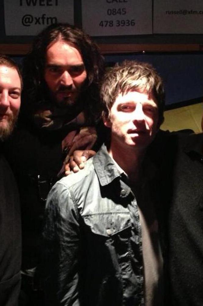 Russell Brand, Noel Gallagher and co at XFM
