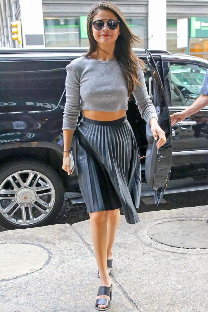 Fashion Was Overwhelming Selena Gomez