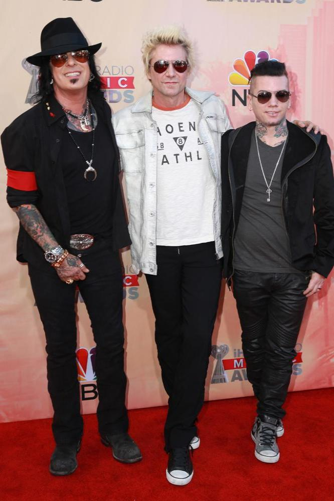 Nikki Sixx, James Michael, DJ Ashba