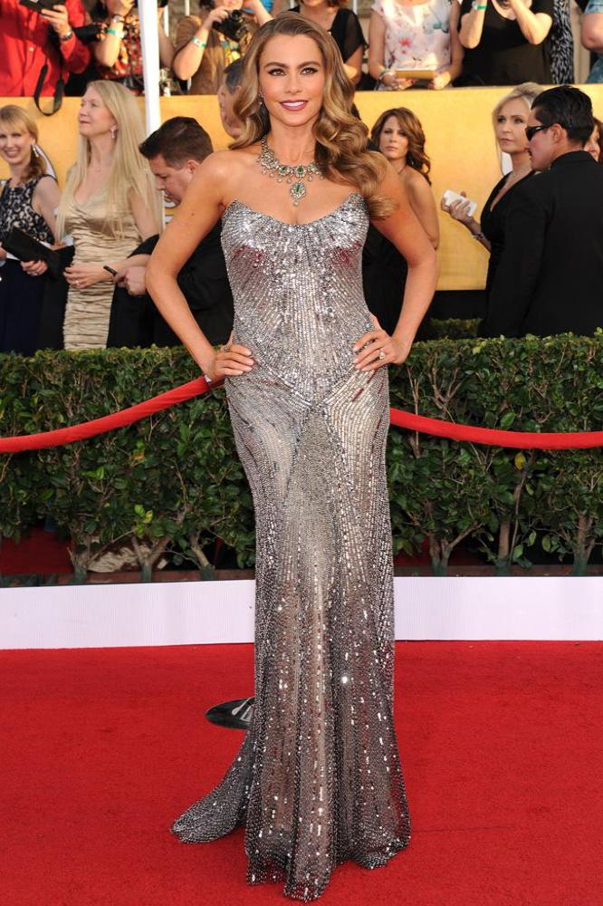 Sofia Vergara has a strong sense of style and knows what works for her
