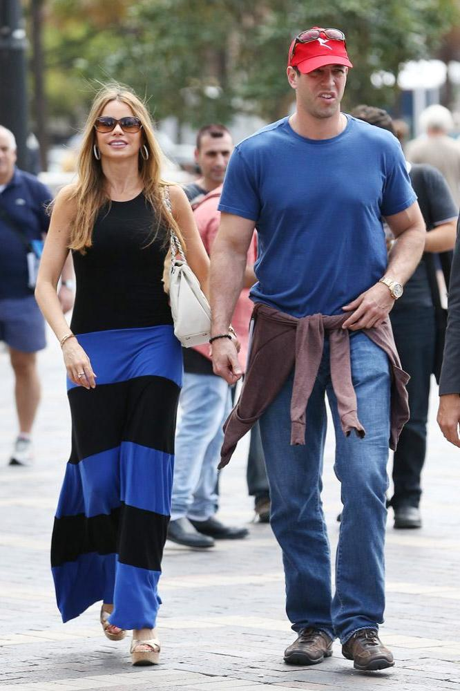 Sofia Vergara and ex-fiancé Nick Loeb