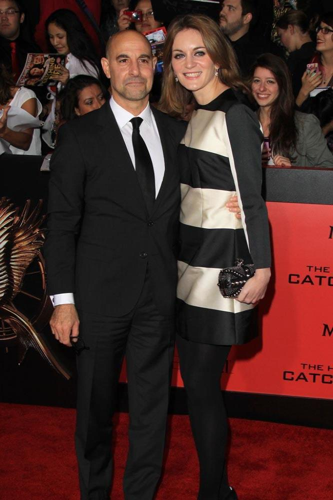 Stanley Tucci and wife Felicity Blunt