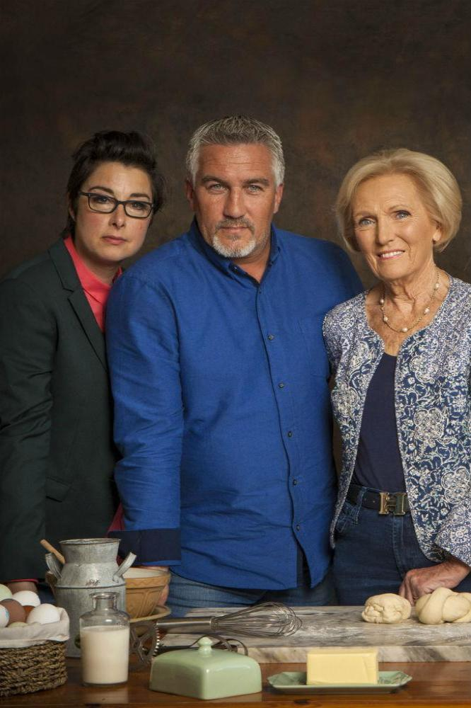 Sue Perkins, Paul Hollywood, Mary Berry and Mel Giedroyc