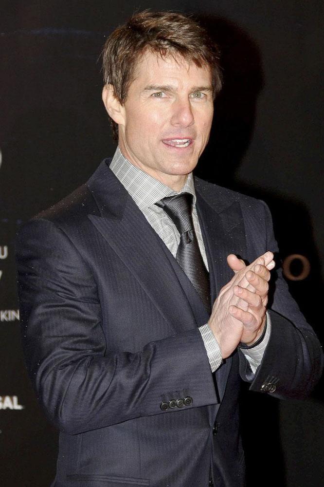 Tom Cruise's Graduation Surprise Tom Cruise Ports