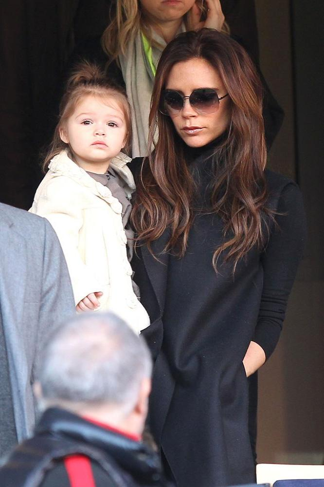 Harper Beckham's style choices are as much documented as her mothers