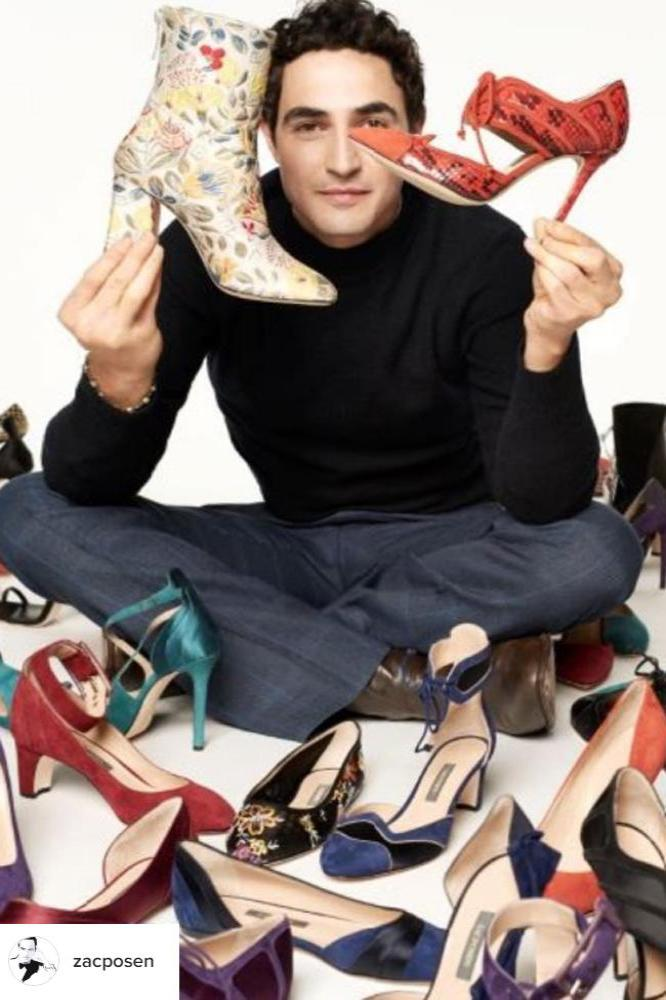 Zac Posen is 'excited' for new shoe