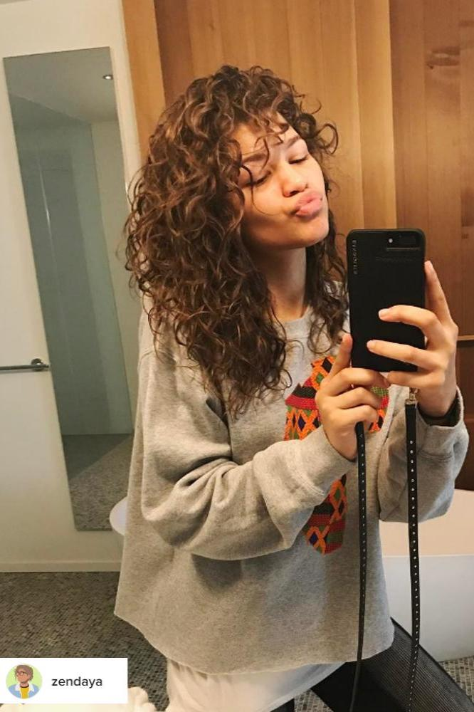 Zendaya Has Spent Years Trying To Grow Her Damaged Hair Back