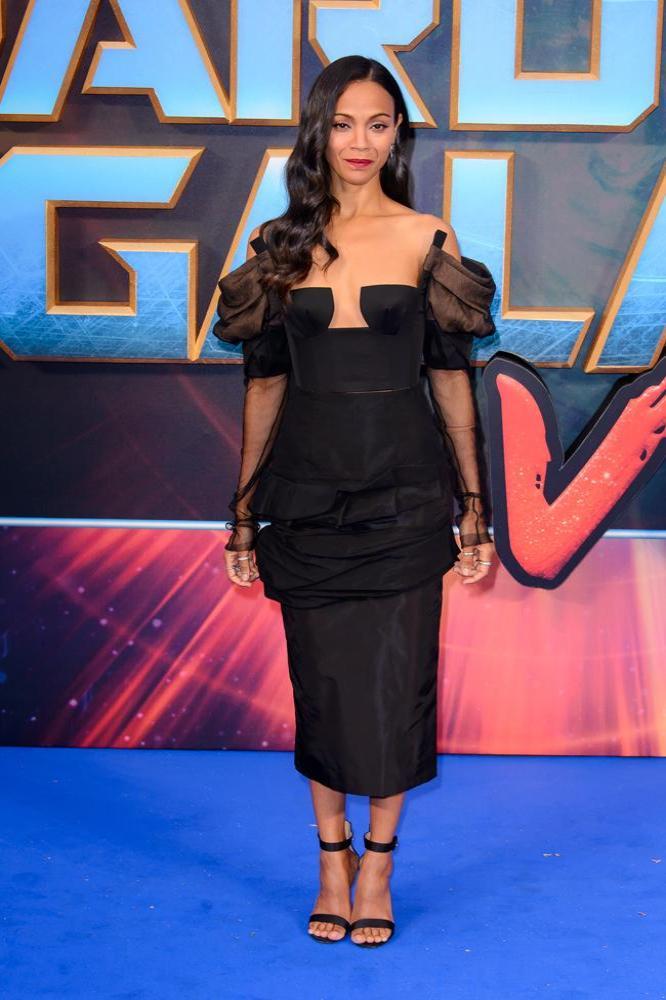 Zoe Saldana says Avengers: Infinity War is immense