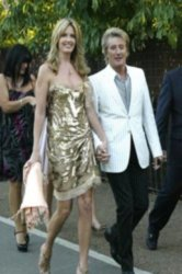 Penny Lancaster with husband Rod Stewart