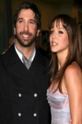 David Schwimmer and wife Zoe