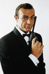 Sean Connery as James Bond in the 60s