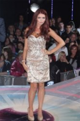 Amy Childs is also in the celebrity house