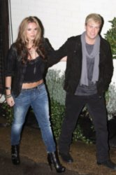 Kian Egan and Jodi Albert
