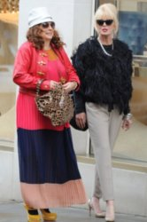 Absolutely Fabulous filming now