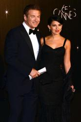 Alec Baldwin and his wife Hilaria