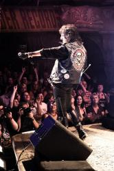Alice Cooper performing at 'Rock of Ages'