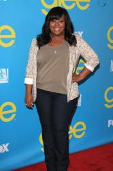 Amber Riley at the event last night
