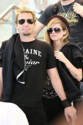 Avril Lavigne and husband Chad Kroeger