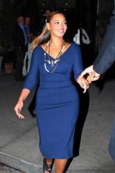 Beyonce in the Victoria Beckham